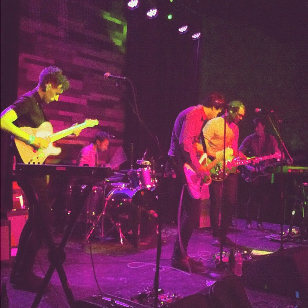 No performing some new music at constellation room! Love this band!!! (Taken with Instagram)