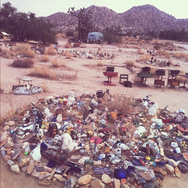 Pioneertown is the coolest. I love this place. (Taken with Instagram)
