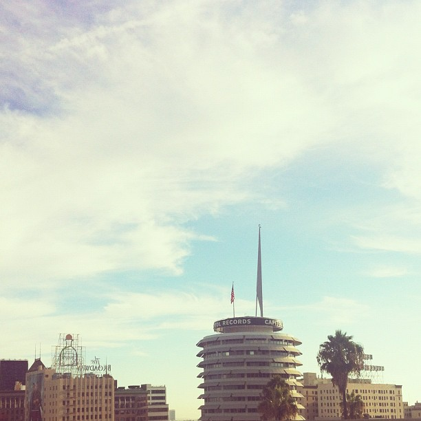 Oh hey LA, how are you? Want to see a show tonight? (Taken with  Instagram )