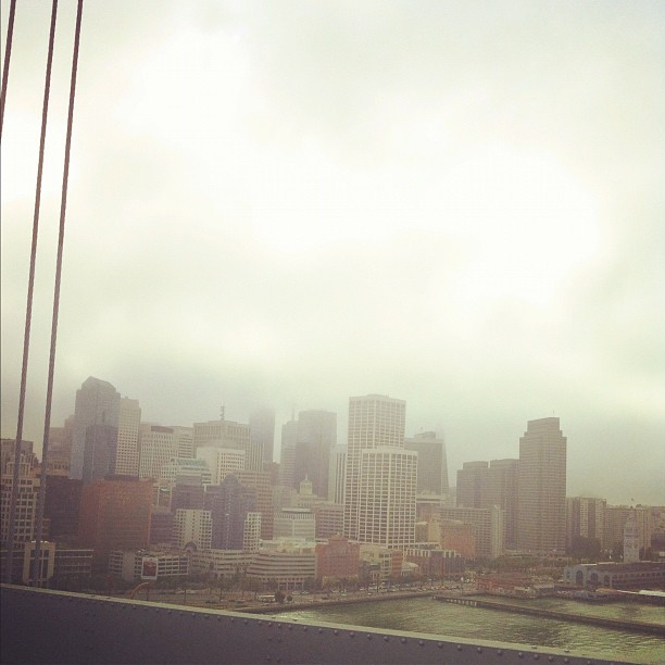 San Francisco is nice and cool. (Taken with  Instagram )