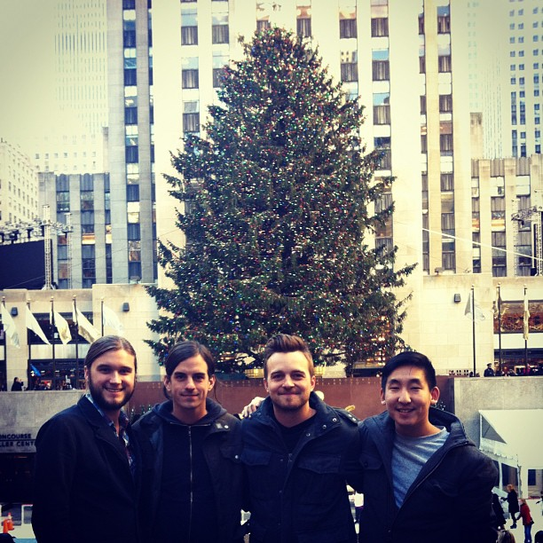Taken with  Instagram  at Rockefeller Center
