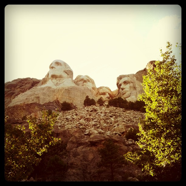 Mount Rushmore (Taken with Instagram at Mt Rushmore National Memorial)