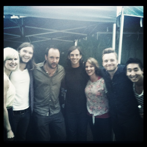 I&A and Dave Matthews at Brandi Carlile show (Taken with Instagram at ZooTunes)