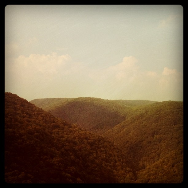 West Virginia (Taken with instagram)