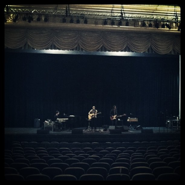 Aimee soundchecking (Taken with Instagram at The Paramount)
