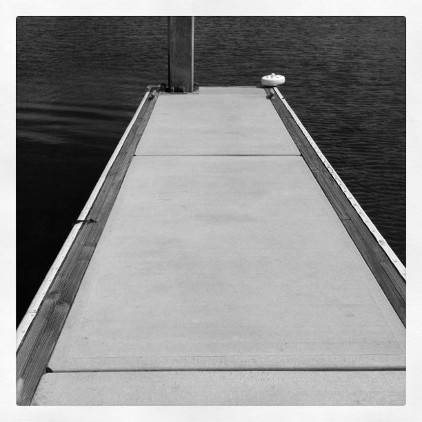 Last look at the dock (Taken with  Instagram  at Loews Coronado Bay Resort)