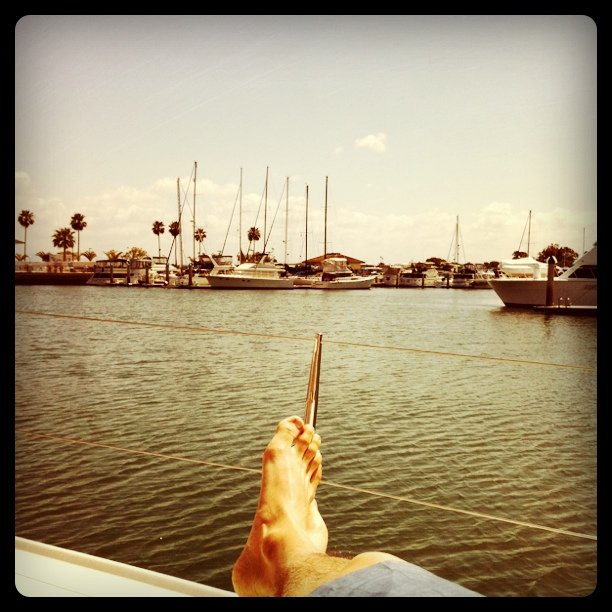 I'm on a boat (Taken with Instagram at Loews Coronado Bay Resort)