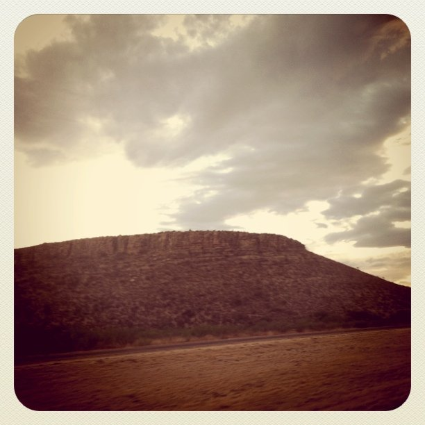 Plateau (Taken with Instagram at Nowhere, TX)