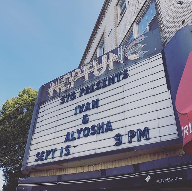 So excited for the show TONIGHT!!! Let's rage Seattle! Doors at 8pm