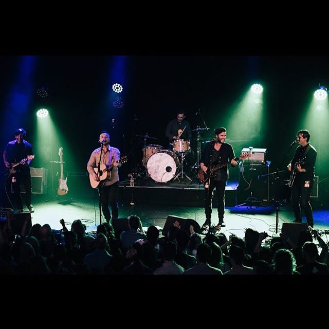 Thanks for showing up Seattle! What an amazing night at the Neptune Theater! Now it's time to buckle down and finish this record!!! Photo Credit- @joeday