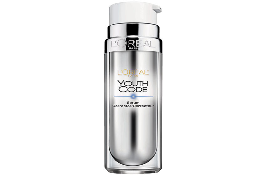 "L'Oréal Paris Youth Code Dark Spot Correcting & Illuminating Skincare Serum, $30.  ""I take care of my skin and moisturize a lot, and the serum is just perfect."""