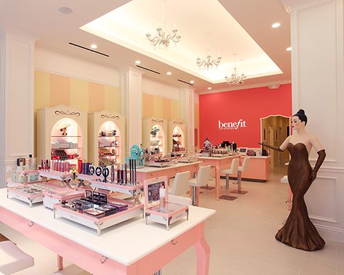 A typical Benefit boutique (this one in San Francisco)