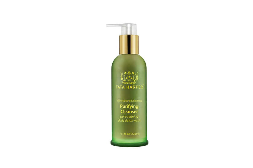 Tata Harper Purifying Cleanser, $58, at Murale, uses foaming sugars, broccoli extract and fruit enzymes to detox pores and combat pollution.