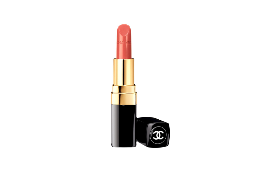 "Chanel Rouge Coco de Chanel  promises a ""melt-away"" texture and buildable colour, alongside a Hydraboost complex with jojoba, mimosa and sunflower waxes, a polymer film and silicone microbeads to hydrate and fill creases.  24 colours, $42 each, at Chanel counters."