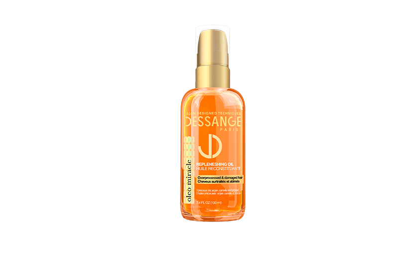 Oleo Miracle Replenishing Oil, $15, nourishes with pracaxi oil to repair dry, damaged hair.