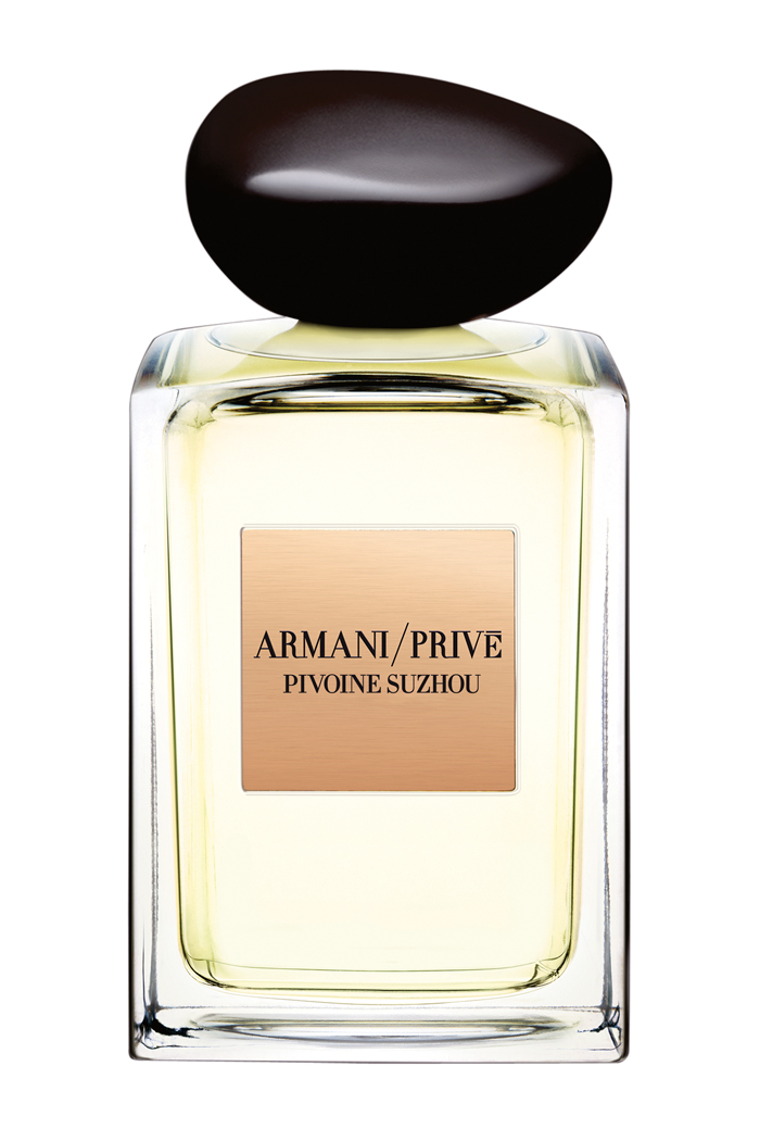 Armani Privé Pivoine Suzhou Eau de Toilette, $165, 100 mL, available April at Holt Renfrew and select Hudson's Bay