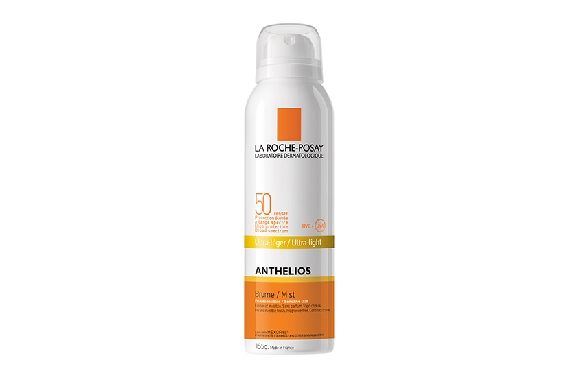 La Roche-Posay Anthelios Ultra-Light Mist SPF 50, $32