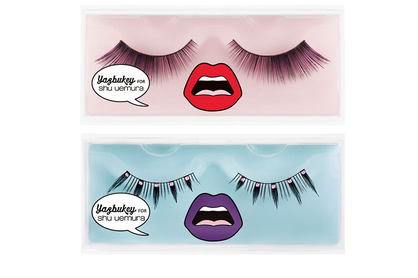 Flip Colour Yaz and Dazzling Flare Tina False Lashes, $35 each