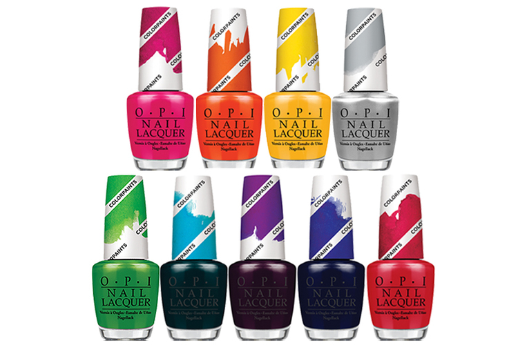 OPI ColorPaints, $12 each, at salons