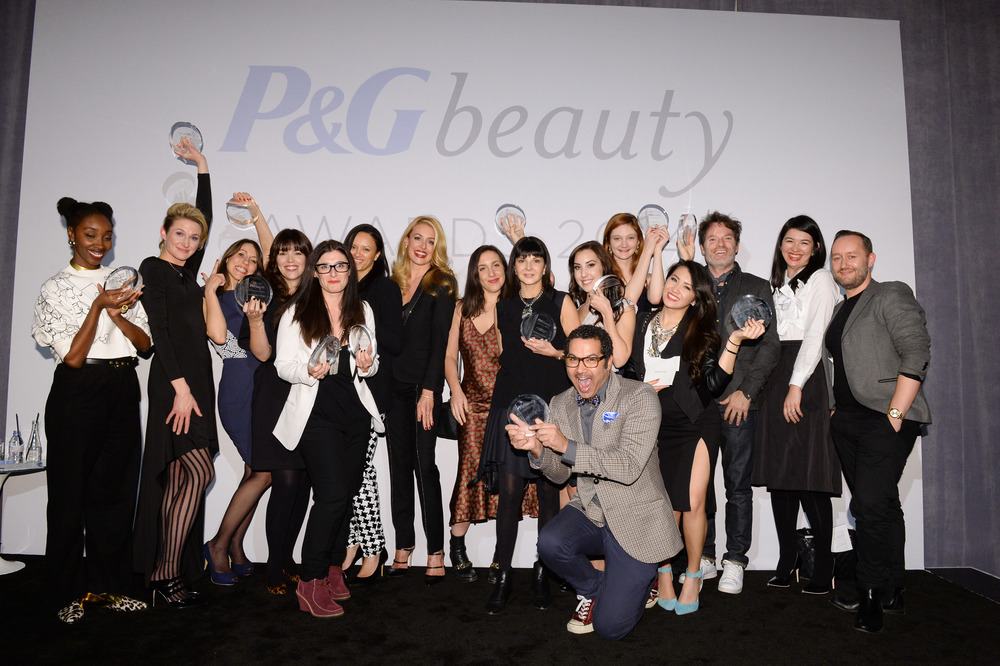 Winners of the 2014 P&G Beauty Awards