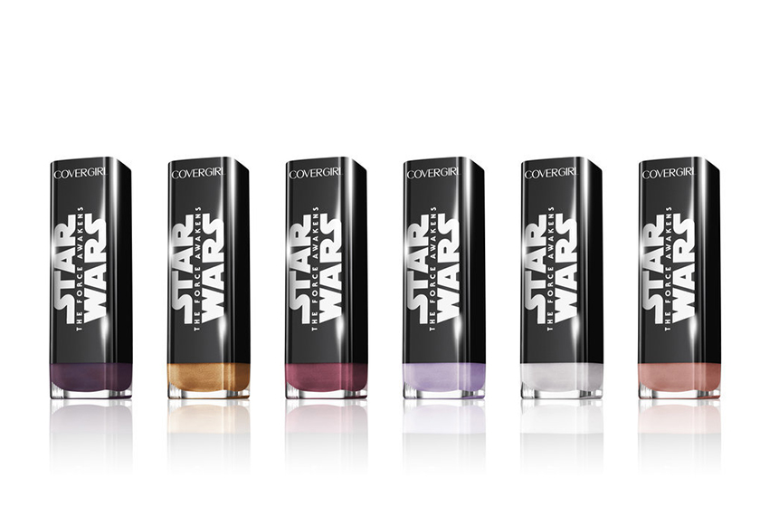 A few products from the CoverGirl x Star Wars collection, available stateside