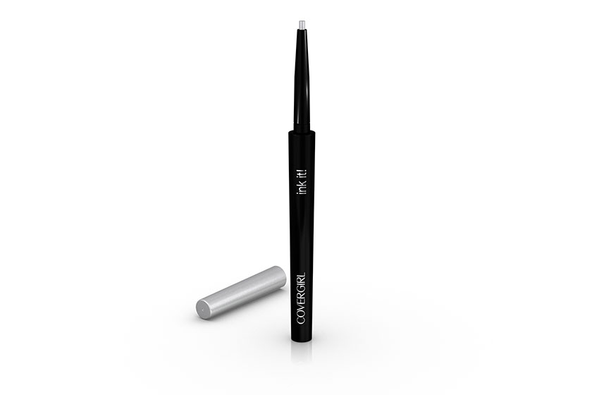 CoverGirl Ink It! by Perfect Point Plus Liner in Silver Ink, $10, at drugstores