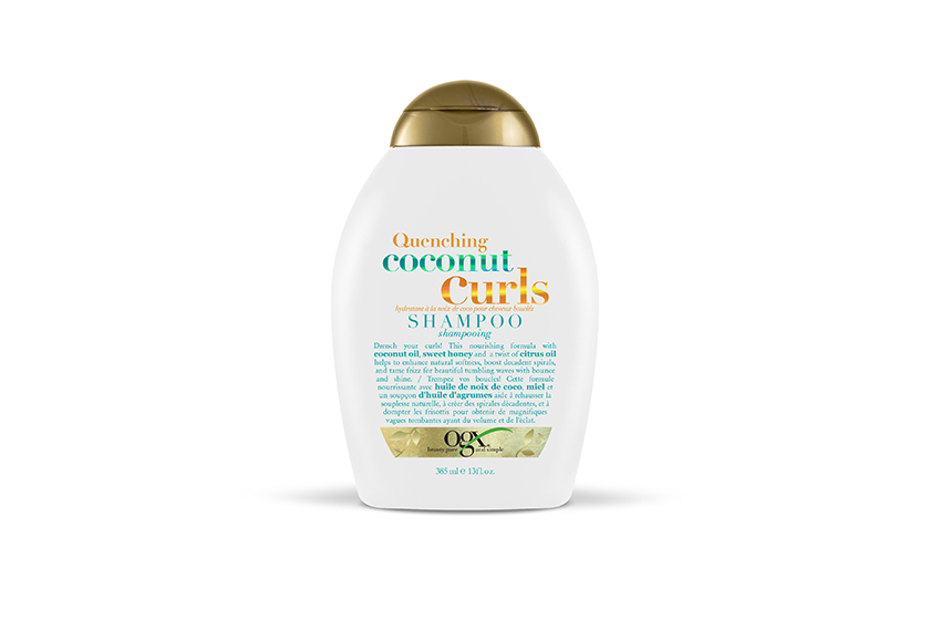 OGX Quenching Coconut Curls Shampoo, $10, at drugstores