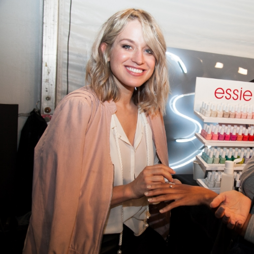 Rita Remark, Canadian lead nail artist and global lead educator for Essie (photo: Essie/Stefania Yarhi)