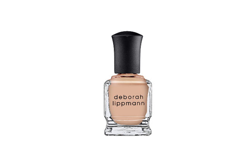 Deborah Lippmann Nail Lacquer in Naked, $20, at Sephora