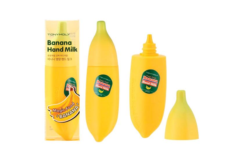 TonyMoly Banana Hand Milk, $15