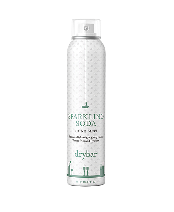 DRYBAR SPARKLING SODA SHINE MIST, $35, AT SEPHORA AND NORDSTROM