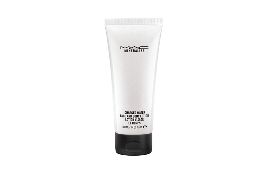 M.A.C Mineralize Charged Water Face and Body Lotion, $40