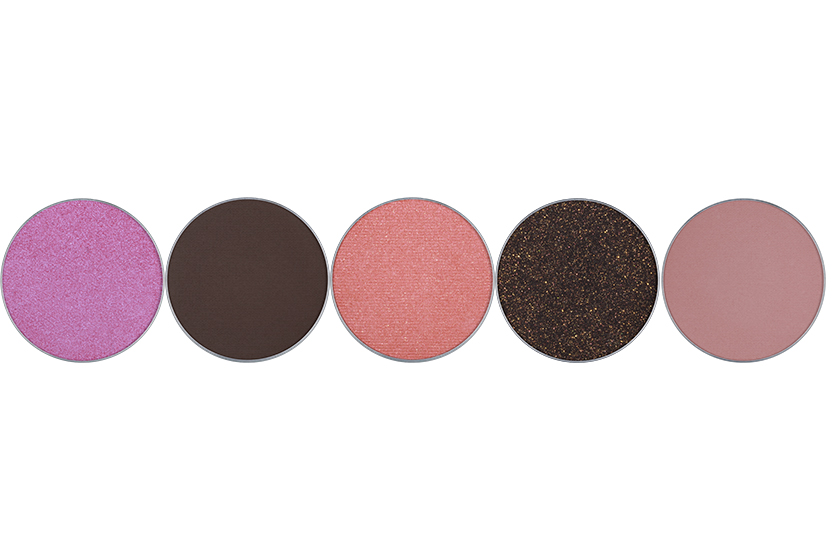 Anastasia Eye Shadow Singles in Electro, Deep Brown, Blushing, Black Diamond and Dusty Rose, $16 each, or four singles for $52