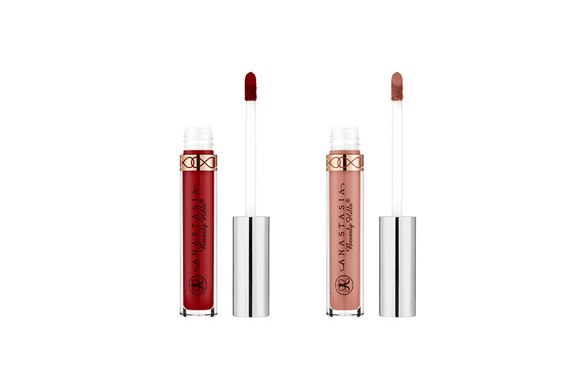 Anastasia Liquid Lipstick in American Doll and Pure Hollywood, $26 each