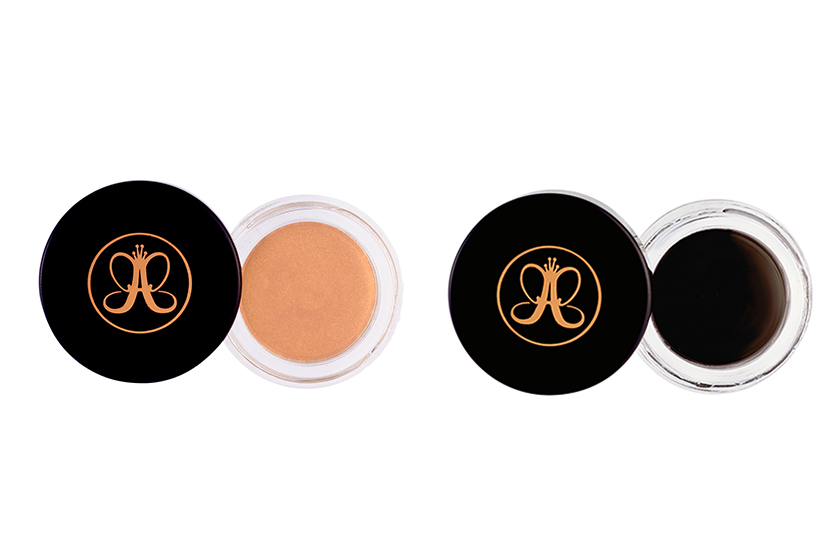 Anastasia Waterproof Crème Color in Honey and Sable, $23 each