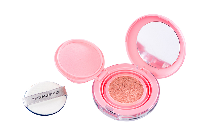TheFaceShop Hydro Cushion Blush, $15, at TheFaceShop