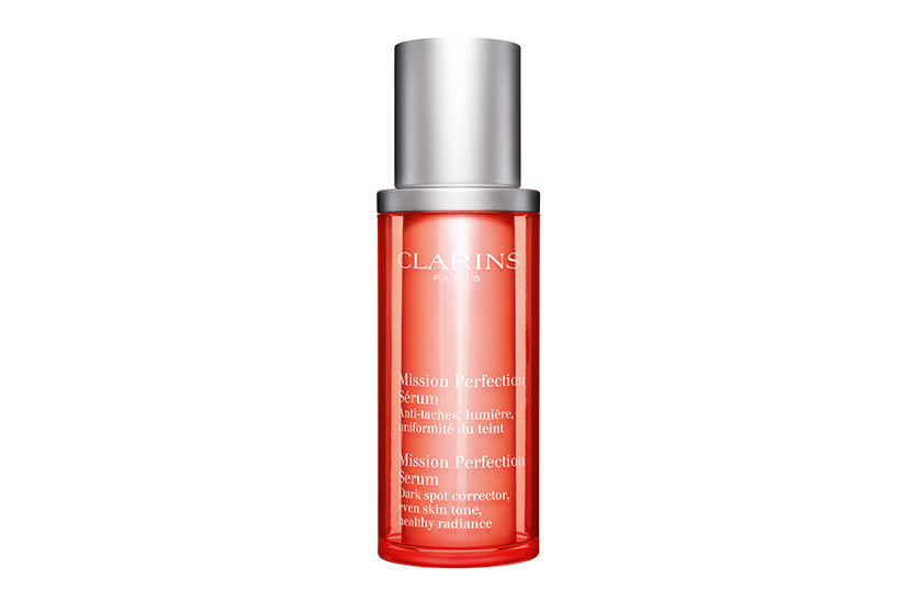 Clarins Mission Perfection Serum, $68, at Clarins counters