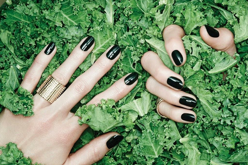 An ad for Nails Inc.'s Nailkale collection