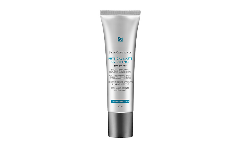 Skinceuticals Physical Matte UV Defense SPF 50, $44, at select medi-spas and dermatologist offices