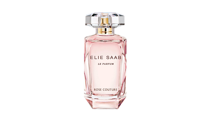 Elie Saab Le Parfum Rose Couture mixes peony with rose nectar, jasmine and sandalwood.  From $93, 50 mL EDT, at select department, specialty and drugstores