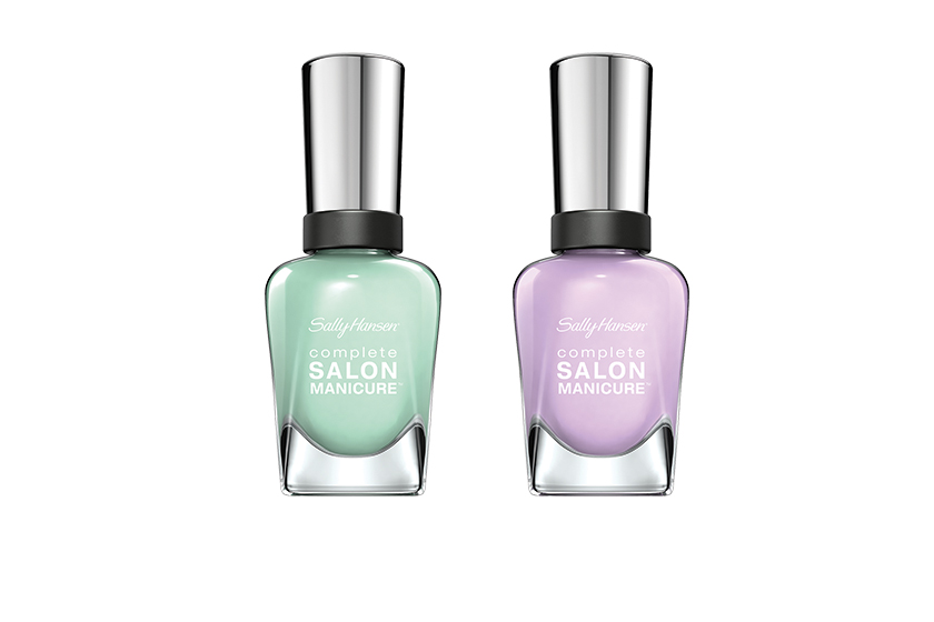 Sally Hansen Complete Salon Manicure in Pardon My Garden and What In Carnation, $10 each