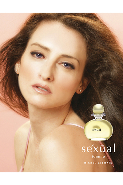 Norma Germain in an archival ad for the debut scent