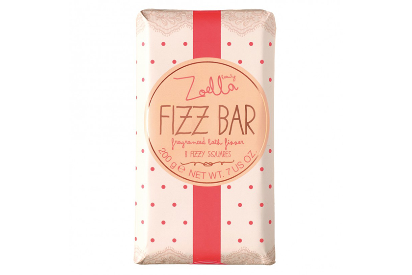 Zoella Fizz Bar Fragranced Bath Fizzer, $10