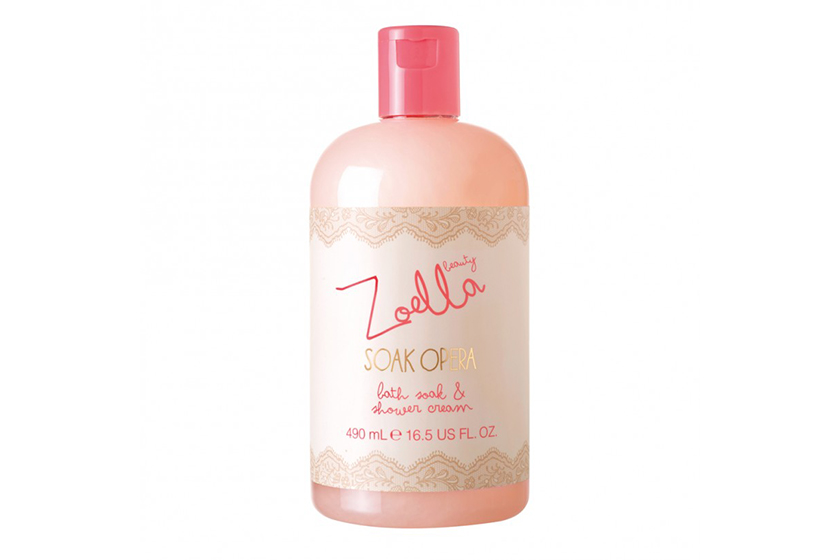 Zoella Soak Opera Bath Soak and Shower Cream, $12