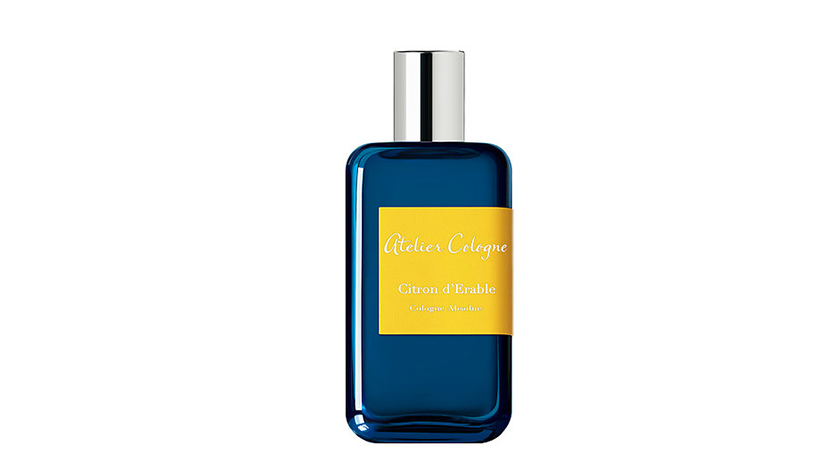 Atelier Cologne Citron D'Erable Cologne Absolue, $140, 100mL cologne, at Sephora CANADA