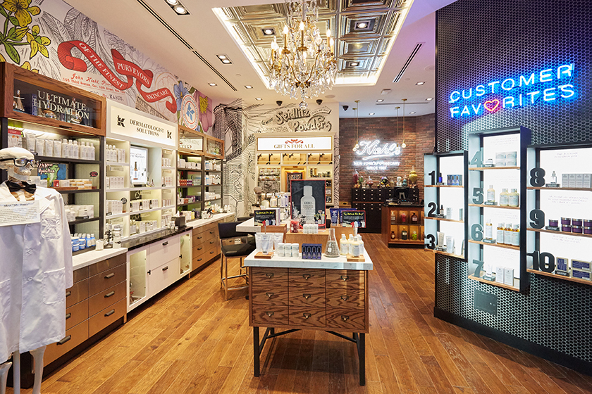 Kiehl's CF Toronto Eaton Centre boutique, which opened this spring