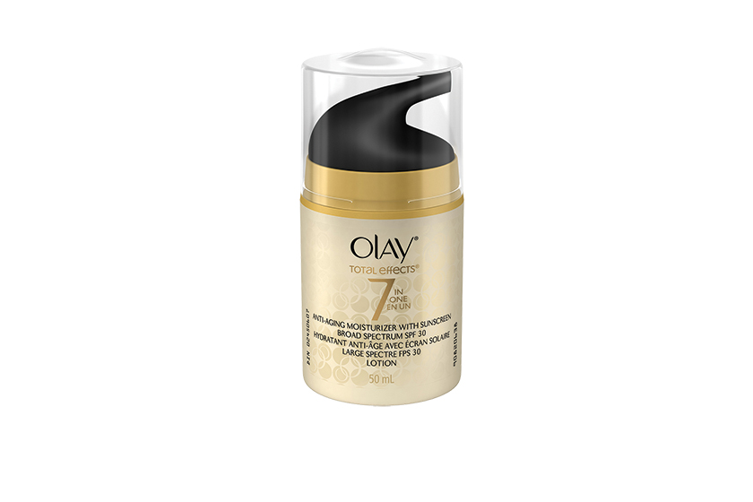 Olay Total Effects Anti-Aging Moisturizer SPF 30, $25