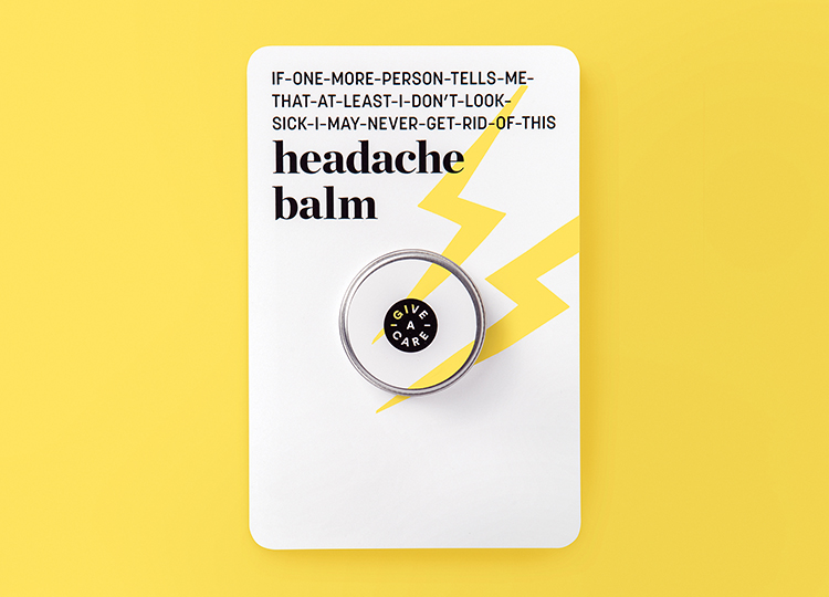 Rethink x Leaves of Trees Give-A-Care Headache Balm, $10