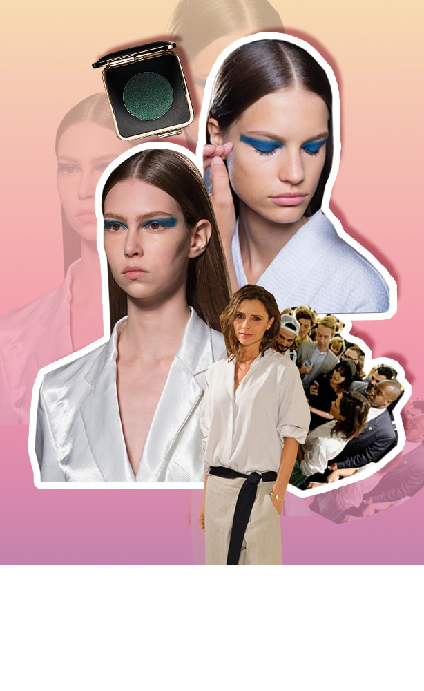 Victoria Beckham's Makeup Debut