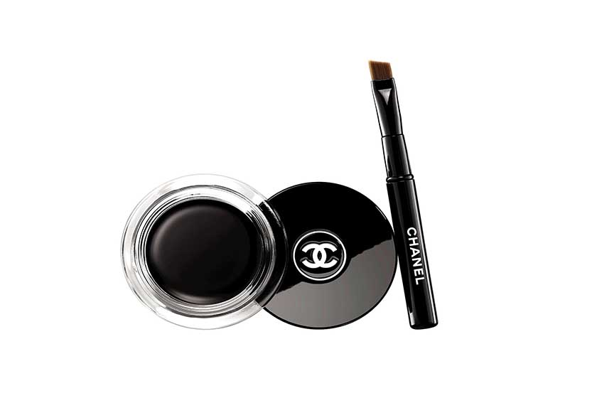 Chanel Calligraphie in Hyperblack, $40
